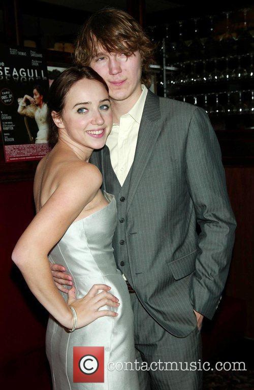 Zoe Kazan and Paul Dano Opening Night afterparty...
