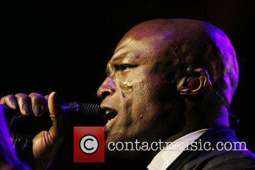 Seal, Heidi Klum, Radio City Music Hall