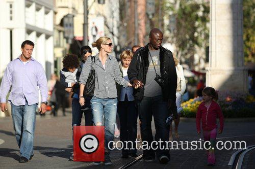 Heidi Klum and Seal 6