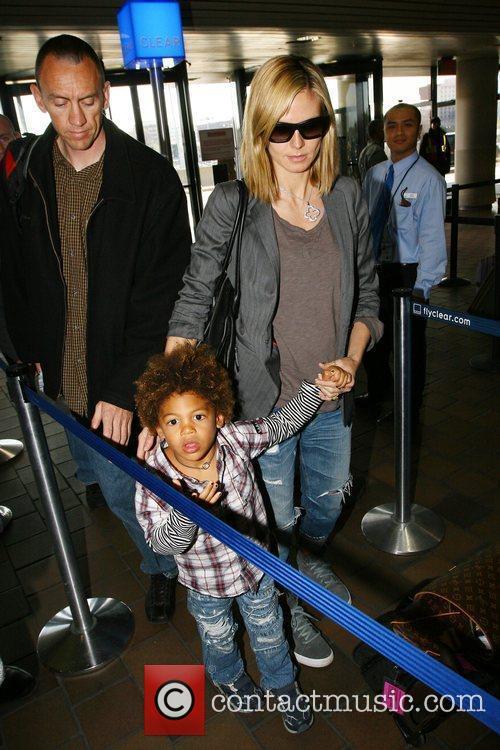 Heidi Klum and Her Son Henry Samuel 3