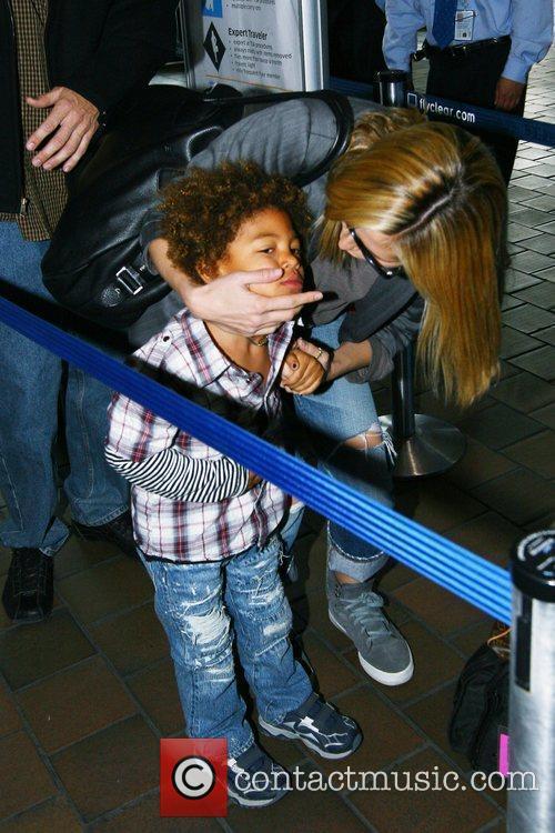 Heidi Klum and Her Son Henry Samuel 4