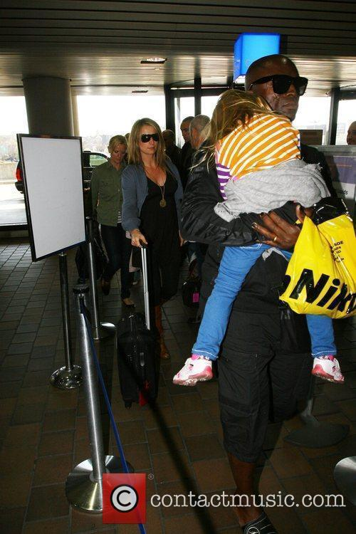 Seal and His Daughter Leni Klum 1