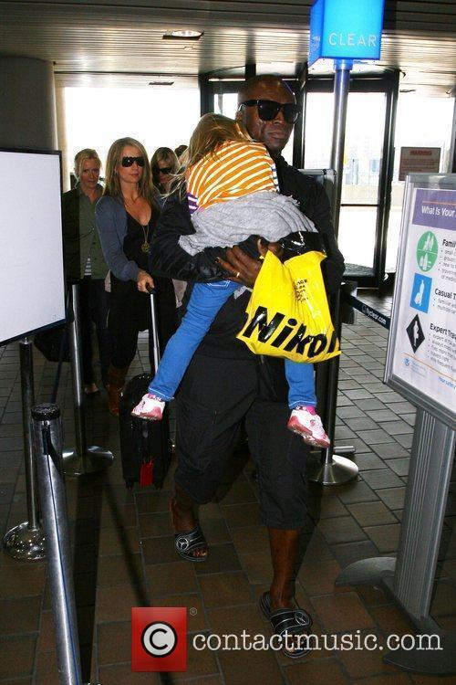 Seal and His Daughter Leni Klum 2
