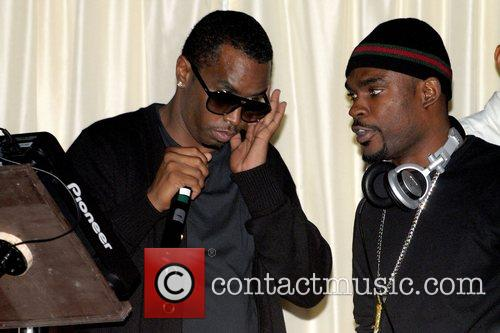 Sean Combs (aka Diddy) and Stevie J The...