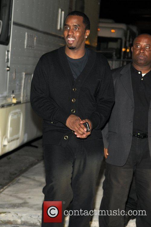 Sean Combs (aka Diddy) leaving Karu&Y after hosting...