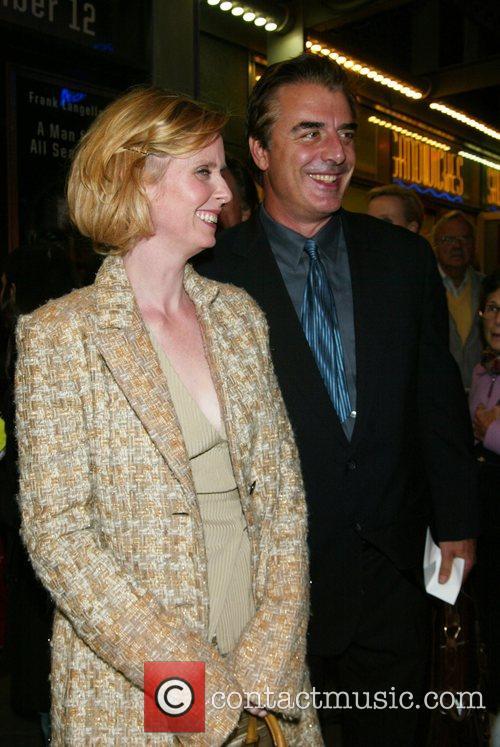 Cynthia Nixon and Frank Langella 6