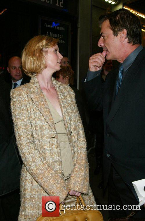Cynthia Nixon and Frank Langella 5