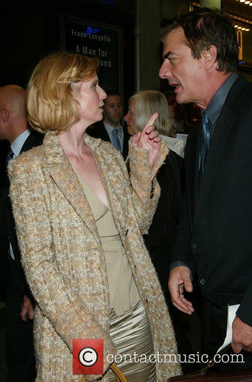 Cynthia Nixon and Frank Langella 8