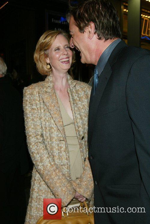 Cynthia Nixon and Frank Langella 2