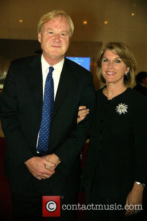 Chris Matthews and Wife Tribute concert for Senator...