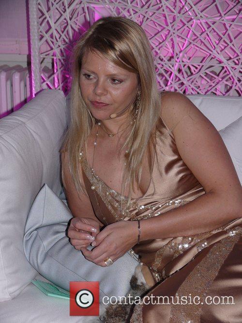Anne-Sophie Briest Senses Wellnes Award 2009 at Baerensaal...