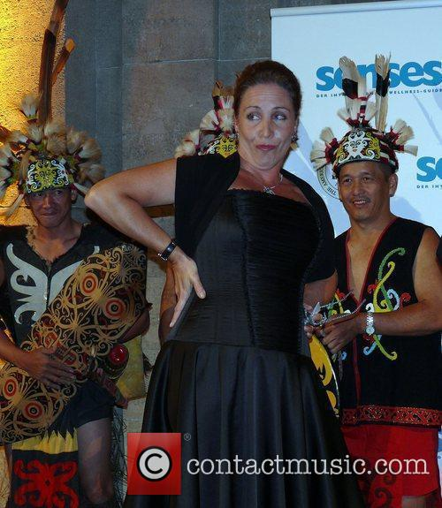 Katerina Jacob Senses Wellnes Award 2009 at Baerensaal...