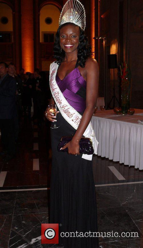 Miss British Virgin Islands Senses Wellnes Award 2009...