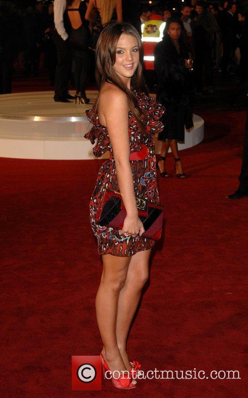 Danielle Lloyd 'Seven Pounds' UK premiere held at...