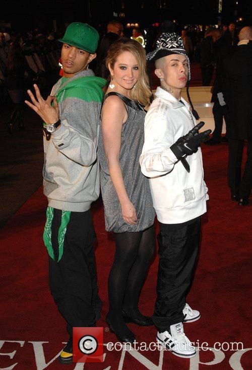 N-Dubz 'Seven Pounds' UK premiere held at the...