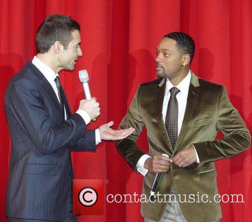 Kai Pflaume and Will Smith 6