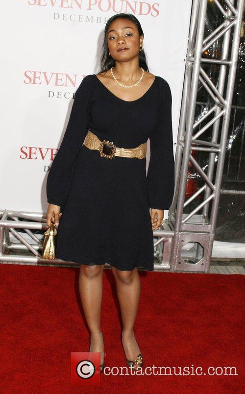 Tatyana Ali Los Angeles Premiere of 'Seven Pounds'...