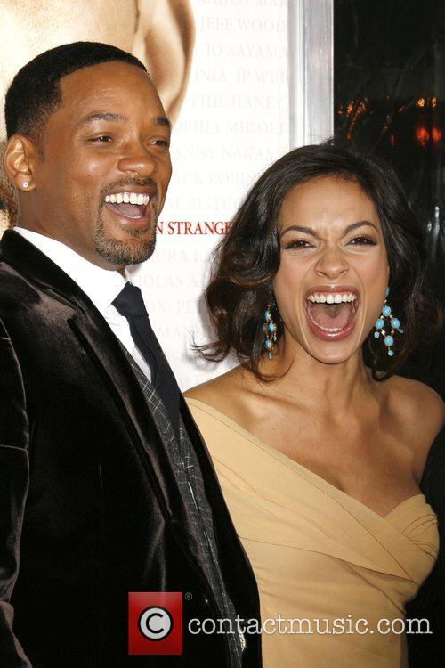 Will Smith and Rosario Dawson 2
