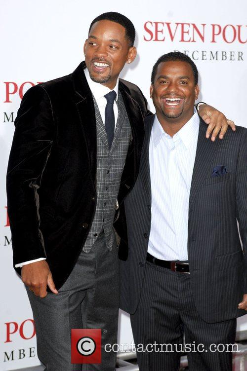 Alfonso Ribeiro and Will Smith Los Angeles Premiere...