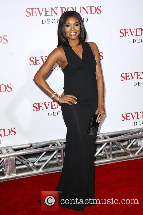 Gabrielle Union Los Angeles Premiere of 'Seven Pounds'...