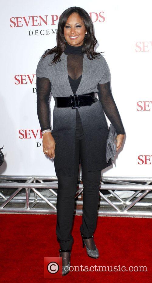 Laila Ali Los Angeles Premiere of 'Seven Pounds'...