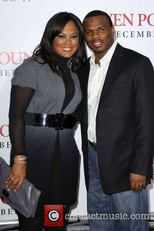 Laila Ali and Curtis Conway Los Angeles Premiere...