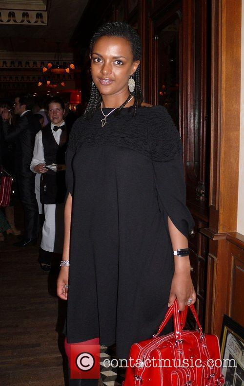 Reception for the German premiere of Seven Pounds...
