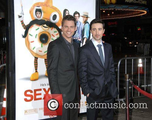 James Marsden and Josh Zuckerman