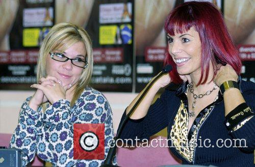 Anasitisa Mayo and Chiqui Marti  attends a...