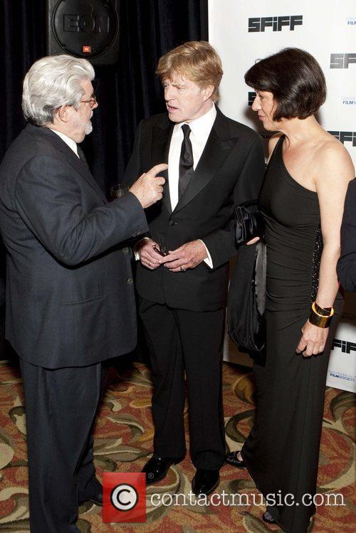 George Lucas and Robert Redford