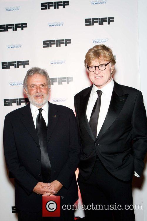 Sid Ganis and Robert Redford