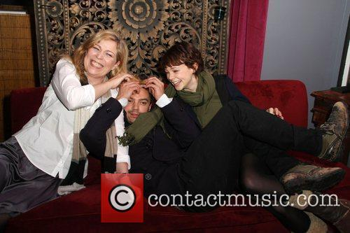 Lone Scherfig, Carey Mulligan and Dominic Cooper 5