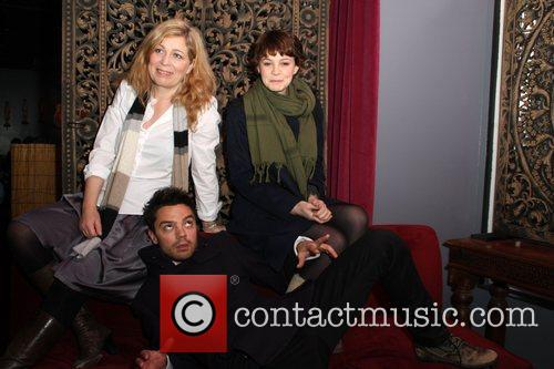 Lone Scherfig, Carey Mulligan and Dominic Cooper 1