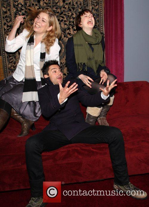 Lone Scherfig, Carey Mulligan and Dominic Cooper 8