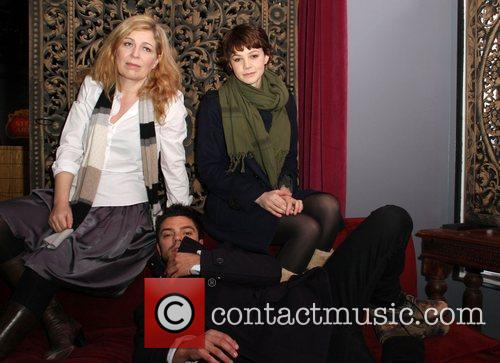 Lone Scherfig, Carey Mulligan and Dominic Cooper 4