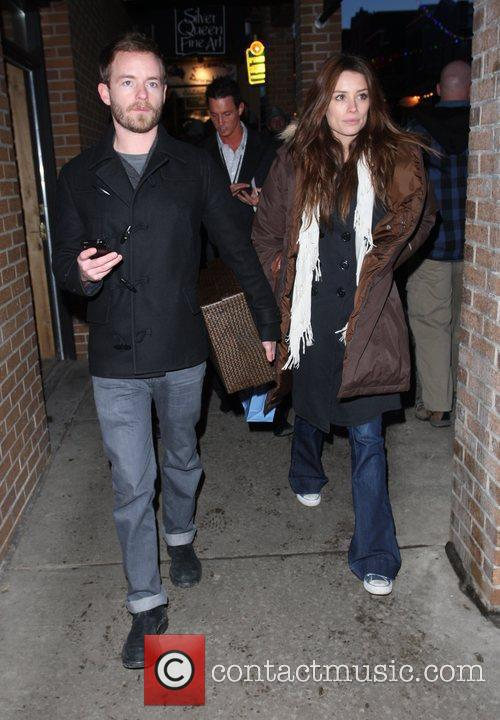 Chris Masterson and girlfriend 8