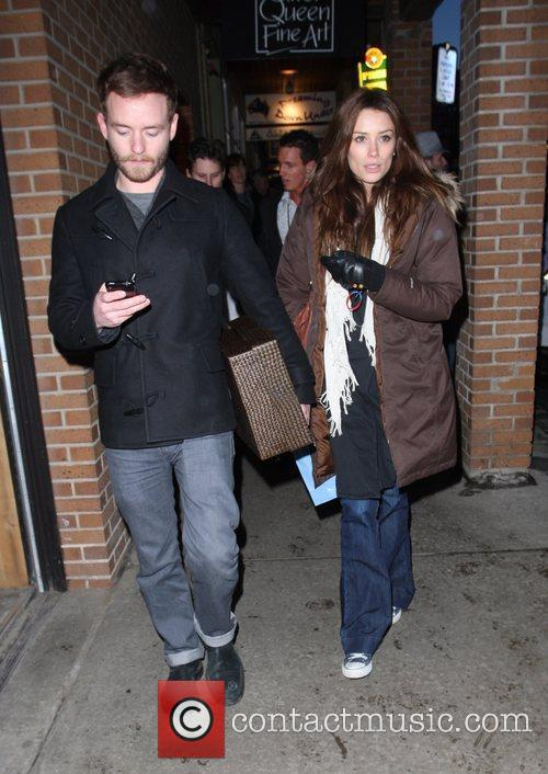 Chris Masterson and girlfriend 6