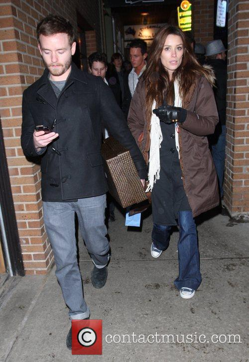 Chris Masterson and girlfriend 9