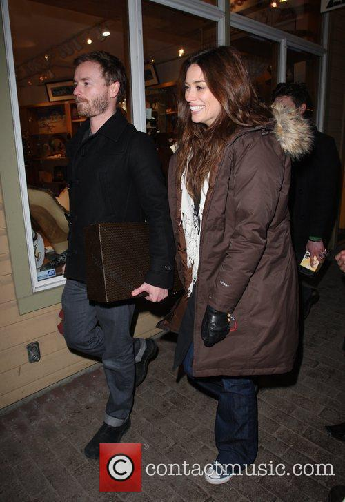 Chris Masterson and girlfriend 7
