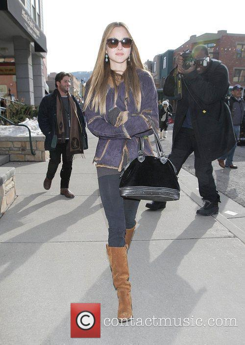 Devon Aoki  out and about at the...