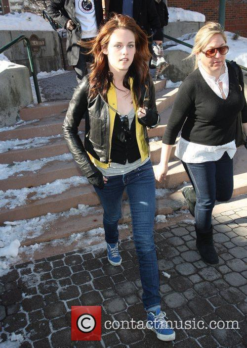 'Twilight' star Kristen Stewart out and about during...