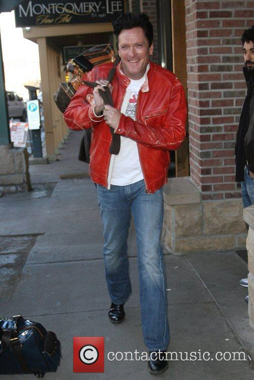Michael Madsen out and about during the 2009...
