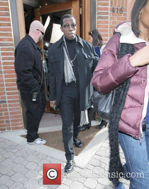Wesley Snipes out and about at the 2009...
