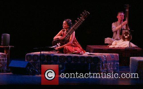 Anoushka Shankar and Ravi Shankar 1