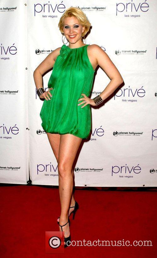Shanna Moakler  hosts and evening at Prive...