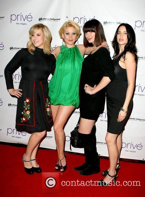Shanna Moakler and guests hosts and evening at...