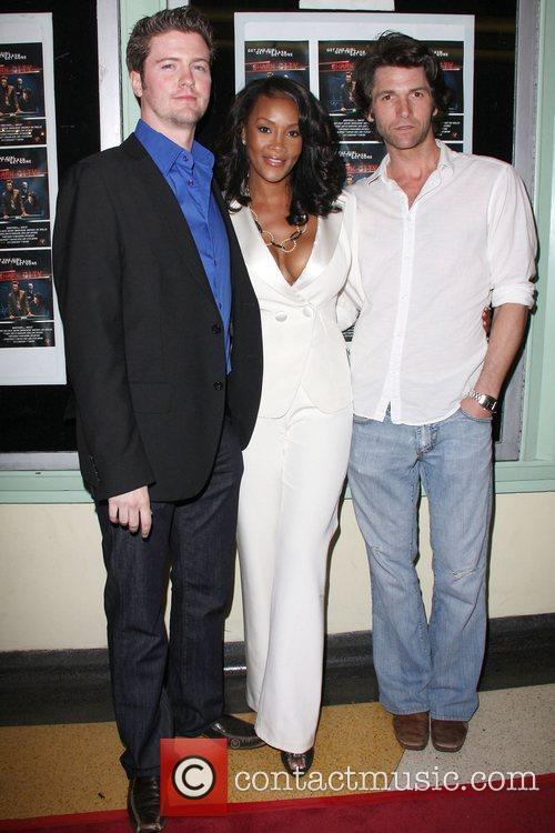 Vivica A Fox, David Phillips and Jefferson Brown