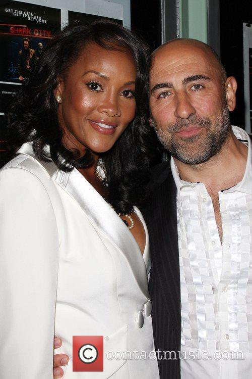 Vivica A Fox and Carlo Rota