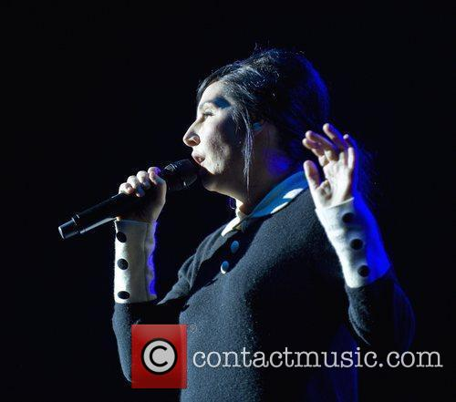 Sharleen Spiteri performing live on stage at the...