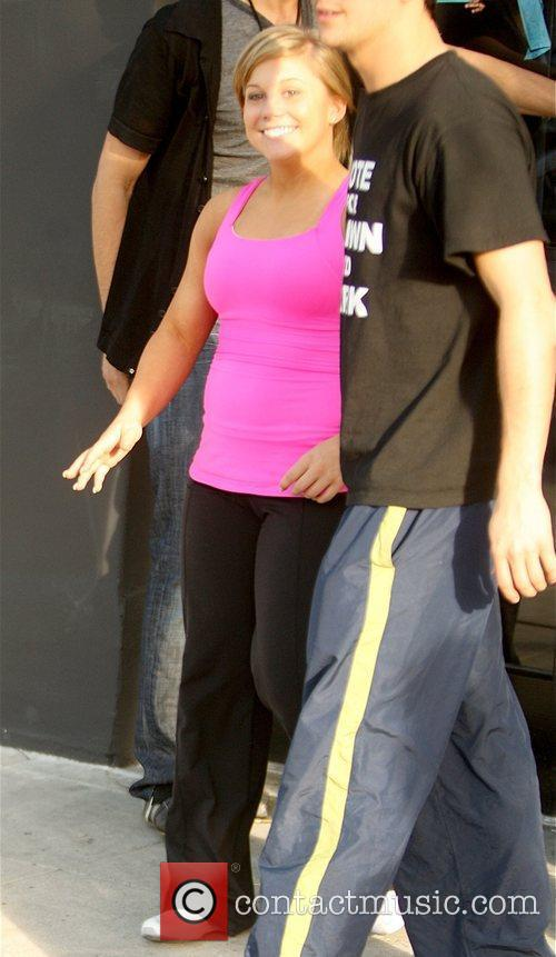 Shawn Johnson, Abc and Dancing With The Stars 1